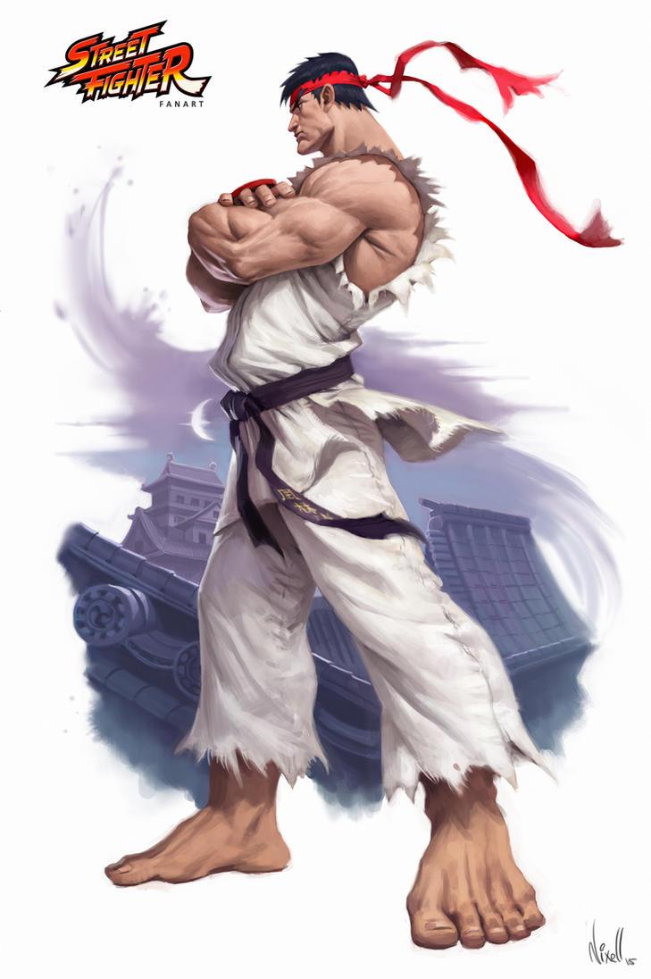 StreetFighter Ryu by nixell