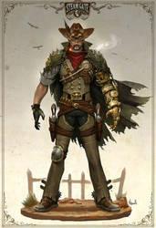 STEAM GATE, 'The Cowboy'