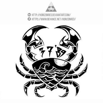 Cancer Tattoo by horizonred