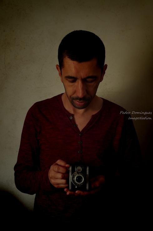 Self portrait by P3droD