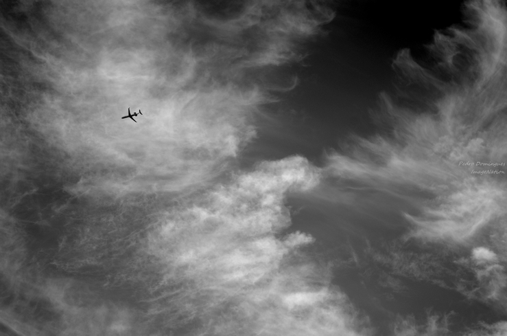 High in the sky by P3droD