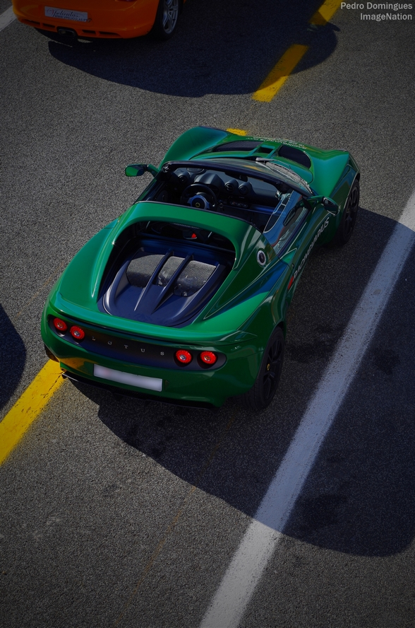Green Elise by P3droD
