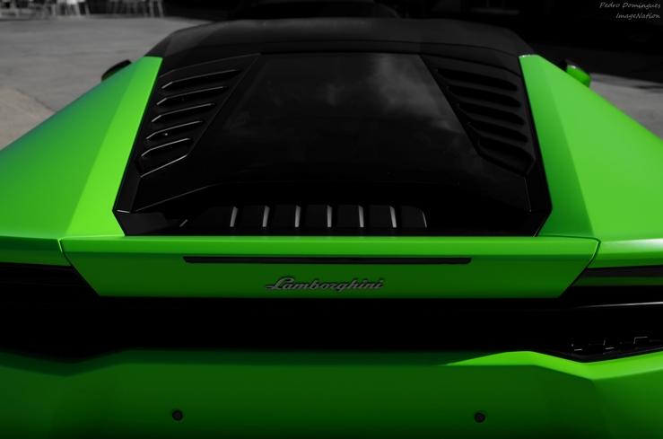 Green Huracan by P3droD