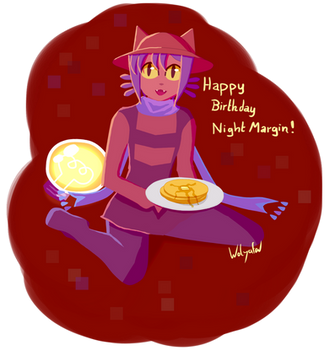 Birthday Gift for NightMargin by Wolyafa