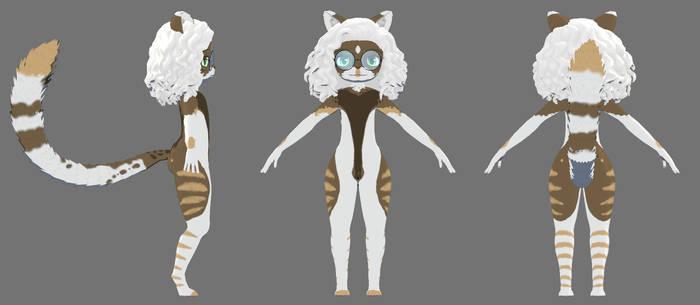 VRchat Avatar Commission - Oakley by Wolyafa on DeviantArt