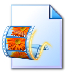 Windows Live Moviemaker file 256x256 icon PNG