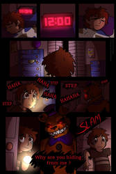 How to fear monster page 1 (Sideshow version) by SideshowFreddy