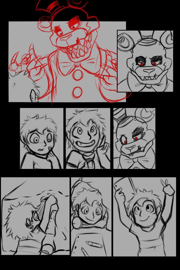 (Sketch) HTFM page 3 (Sideshow version) by SideshowFreddy