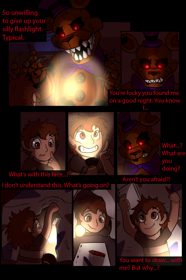 How to fear monster page 3 (Sideshow version) by SideshowFreddy