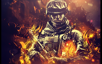 Battlefield by sspace7