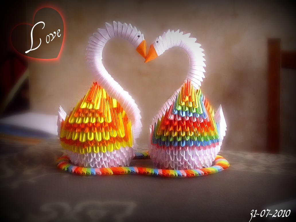 Swan love :D ..finished.. by dirkbenedict28