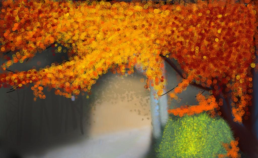 Autumn Tree by TheInvingator