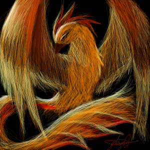 Fire Bird by AnbuShinobi