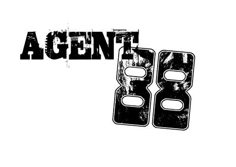 AGENT 88 LOGO TREATMENTS by diggertmesch