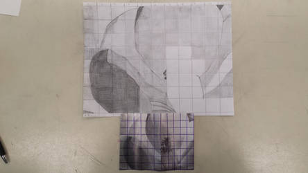 Incomplete practice grid drawing by pandaholic123