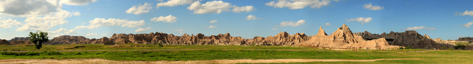the badlands panorama by idrawbad
