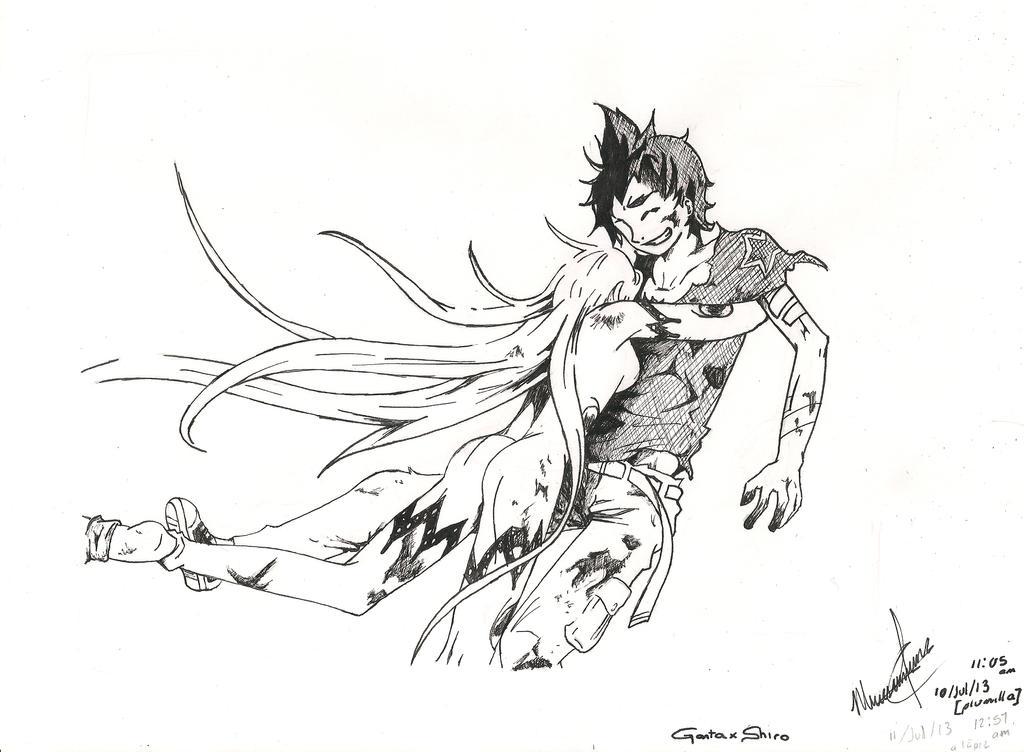 Ganta x Shiro (ch. 57) by AbyVanEnvurio