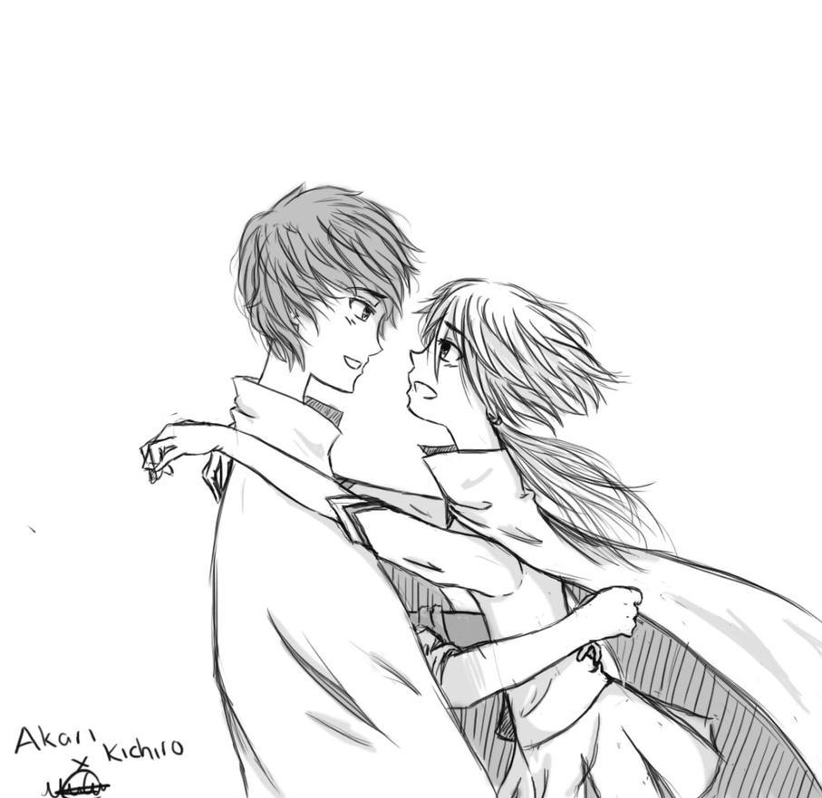 Akari X Kichiro by AbyVanEnvurio