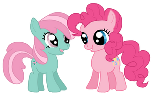 Filly Pinkie and Minty
