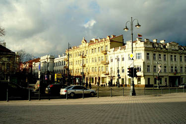 Vilnius centre by Mipopo