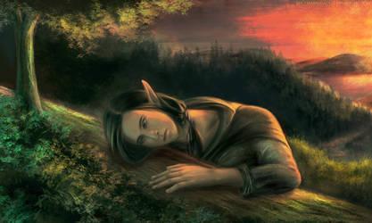 The dead tree. Farewell, my friend! by SpicyMarmalade22
