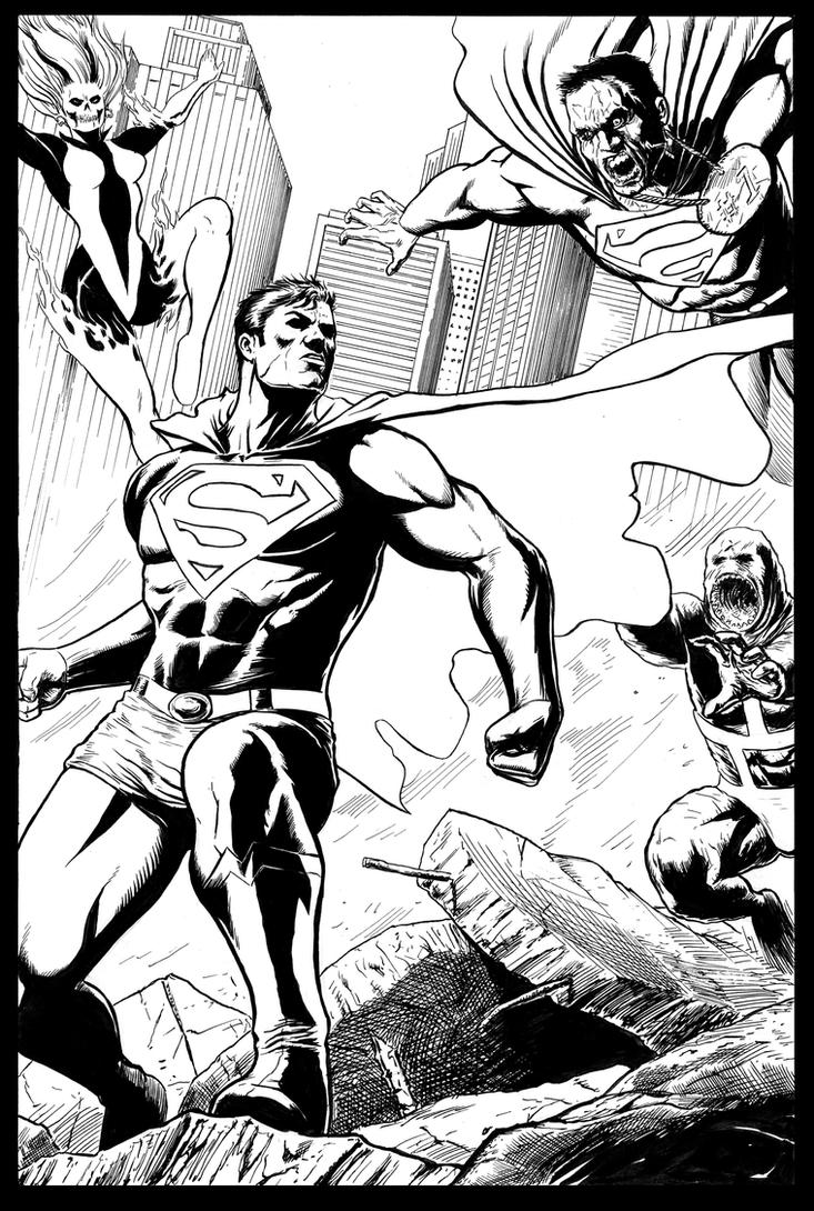 Superman Showdown by craigcermak