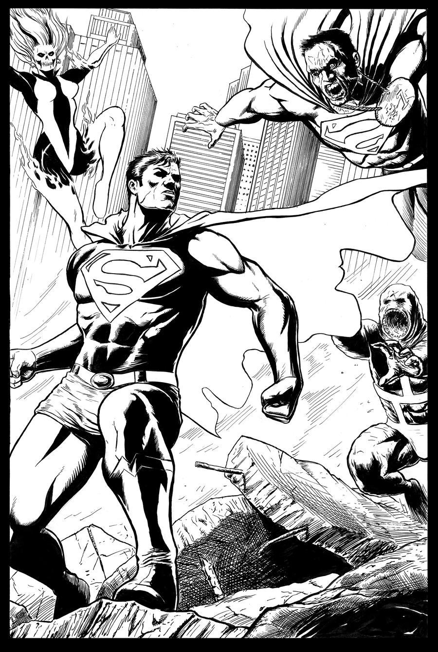 Superman Showdown by craigcermak