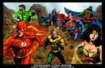 Justice League America - Color