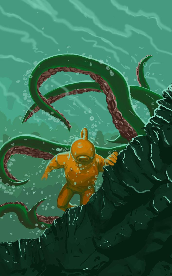 Аниме девушки под водой