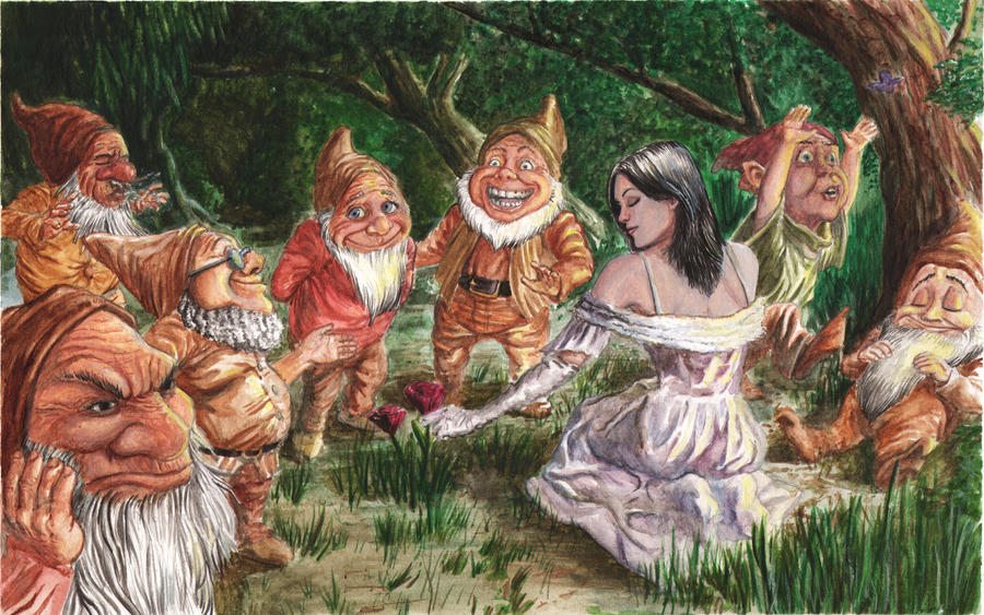 Snow White paints by craigcermak