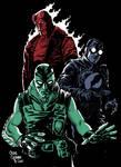 Hellboy, Lobster Johnson, Abe