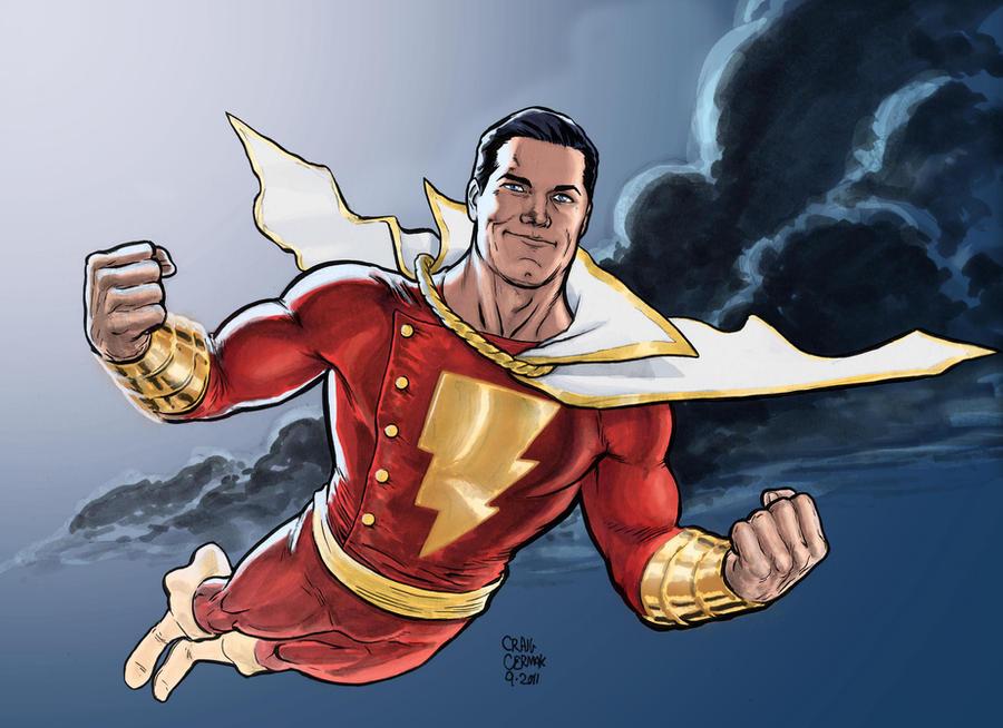 Captain Marvel Color By Craigcermak On DeviantArt Shazam Wallpaper