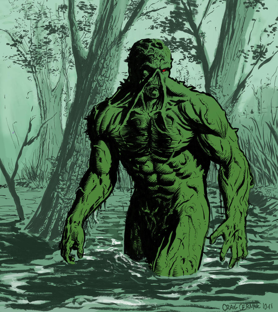 Swamp Thing by craigcermak on DeviantArt