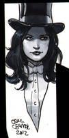 Zatanna head-sketch