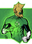 Green Lantern Tomar Re colors