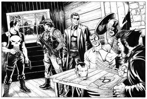 Marvel Commission inks by craigcermak