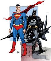 Superman/Batman colors by craigcermak