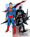 Superman/Batman colors