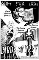 Birds of Prey Noir Film Poster by craigcermak