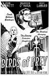 Birds of Prey Noir Film Poster