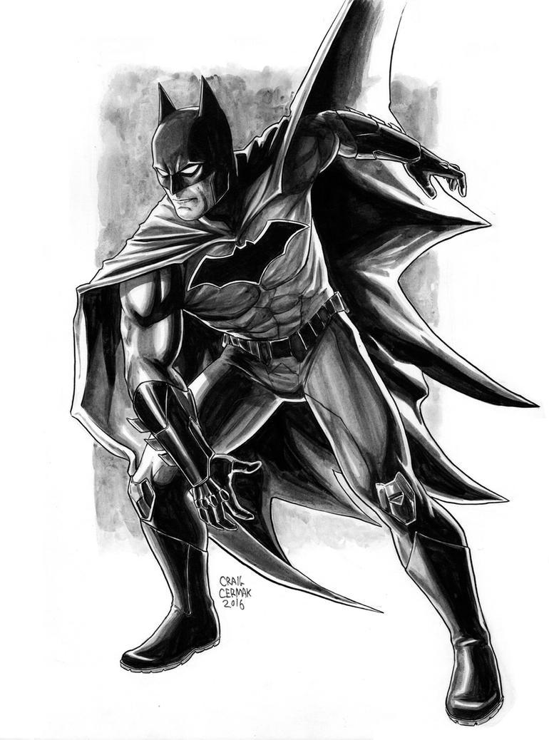 Batman inks l by craigcermak