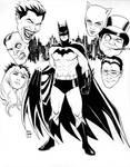 Batman and his Rogues