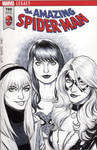 Mary Jane Watson, Gwen Stacy, Black Cat Cover