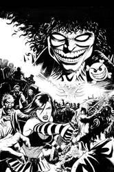 Hack/Slash vs Chaos Cover #2 by craigcermak