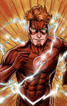 Wally West, The Flash - colors