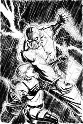 Hack/Slash vs Chaos Cover #3 by craigcermak