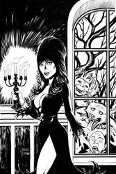 Elvira, Mistress of the Dark cover #9 by craigcermak