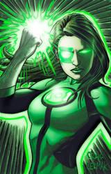 Green Lantern Jessica Cruz - colors by craigcermak