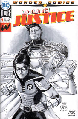 Young Justice - Sketch cover