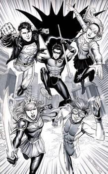 Young Justice - Wonder Comics